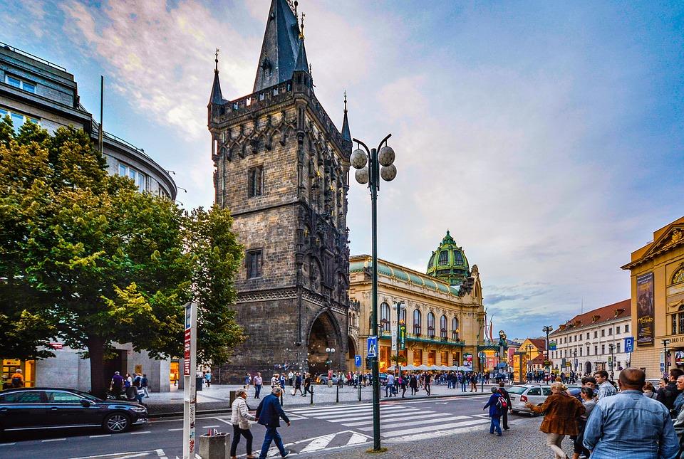 hlavní město Česka