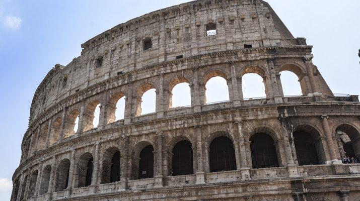 Římské koloseum: symbol Říma